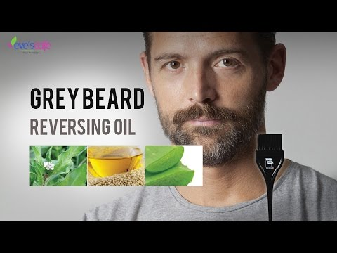 Grey Beard Reversing Oil  | Beard Oil Get rid of White Beard