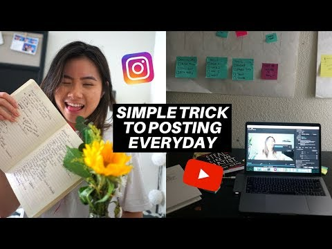 INSTAGRAM PLANNING: How I Stay Productive + Consistent on Social Media