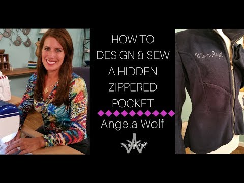 DIY TUTORIAL: HOW TO ADD A ZIPPERED POCKET TO A SLEEVE OR JACKET