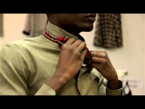 How to Clip a Bow Tie : Menswear Magic