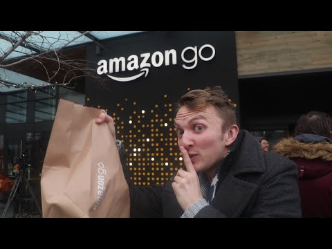 CAN YOU STEAL FROM AMAZON GO?!