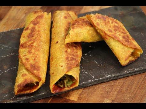 Indian Style Burrito In Gujarati | Snacky Ideas by Amisha Doshi | Sanjeev Kapoor Khazana