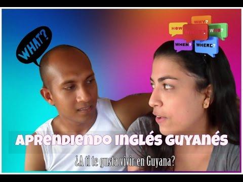 Aprendiendo inglés Guyanés - Learn English Guyanés/Ani Cerbara❤️