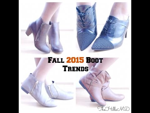 Fall 2015 Boot Trends