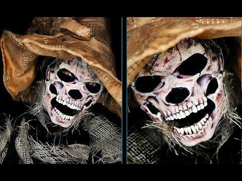 Scarecrow | Halloween Makeup Tutorial | Skeleton Makeup