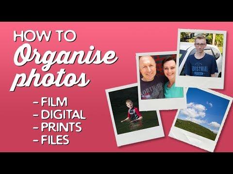 How to Organise Photos (Film & Digital) | A Thousand Words