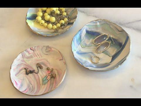 DIY Clay Jewelry Bowl