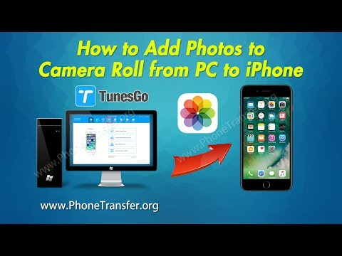 How to Add Photos to Camera Roll from PC to iPhone