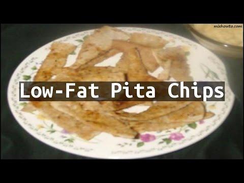 Recipe Low-Fat Pita Chips
