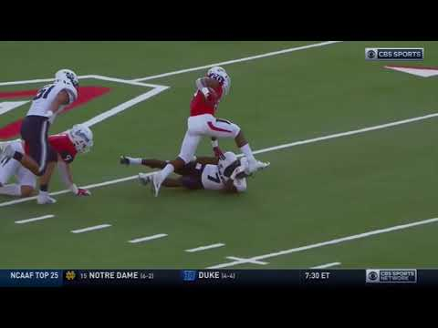 DJ Williams DB Utah State Career Highlights Pacific Sports Management