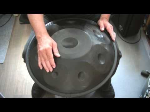 Hang Handpan Tutorial for Beginners Lesson 4 (of 10) Two easy to learn pattern