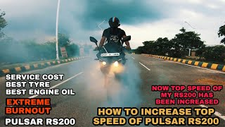 8 21 MB] Download Finally the Top Speed of my RS200 has been