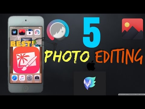Top 5 Photo Editing Apps For iOS 8-10