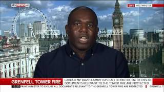 Grenfell Tower Fire: David Lammy MP calls for documents to be saved