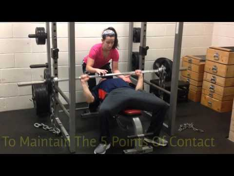 Powerlifting Bench Press W/ Chains