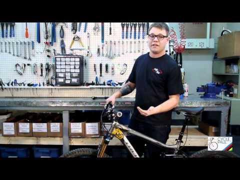 Mountain Bike Suspension Adjustment
