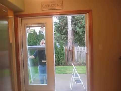 French door window repair / replacement