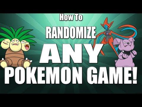 How To Randomize ANY Pokemon Game!!
