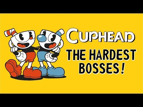 Cuphead - All Bosses & Ending - This game is to hard for playing!