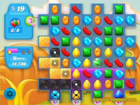 Candy Crush Soda Saga level 165 (3 star, No boosters)