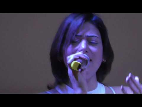 Shisha, live music, fun at Breezes cafe at Ramses Hilton, Cairo, Egypt