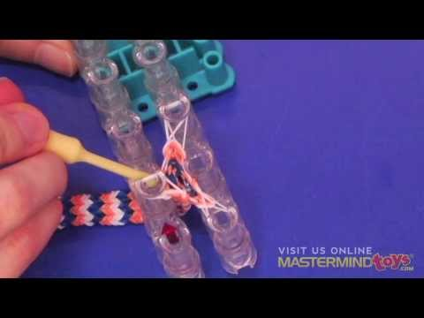 How To: Make the Rainbow Loom Hexafish Bracelet