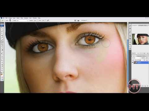 Photoshop Tutorial - Remove Makeup[HD]