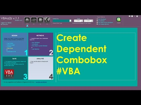 VBA to create dependent combo boxes in excel user form