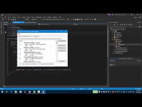 Xamarin Studio - Android App Development using C# - Running your Application