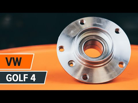 How to replace a rear wheel bearing on VW GOLF 4 TUTORIAL | AUTODOC