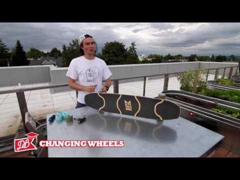 Longboarding 101 - Adjusting your trucks, wheels, and bearings