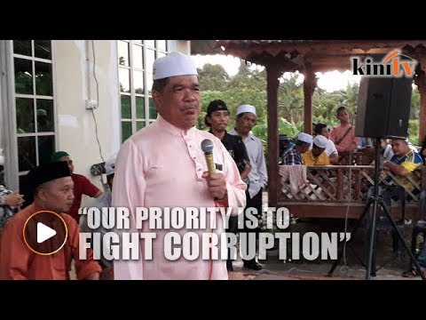 Mat Sabu: Fighting corruption top priority