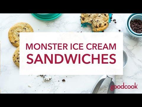 Monster Ice Cream Sandwiches