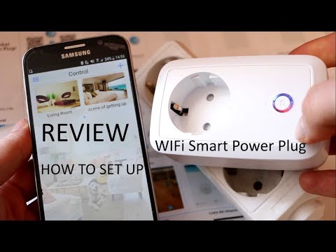 How to set up WiFi Smart Power Plug and REVIEW