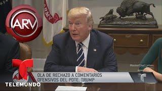 El Salvador Reacciona Indignado A Palabras De Trump | Al Rojo Vivo | Telemundo