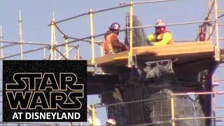 Disneyland - 2/6/18 Star Wars: Galaxy's Edge view from Hungry Bear Restaurant