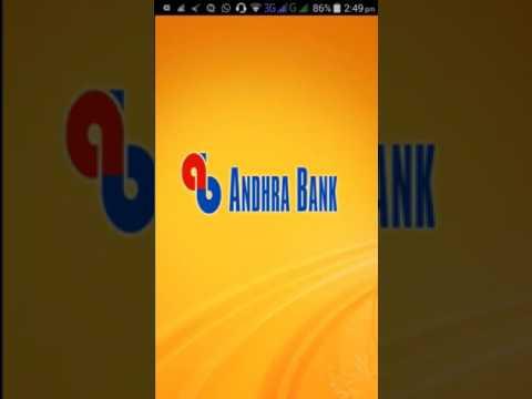 Andhra Bank Mobile Banking 2 Generating M Pay Pin