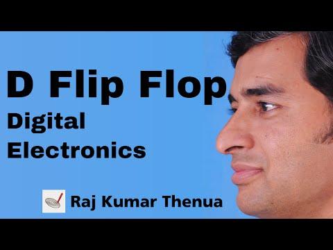 D flip flop | Digital Electronics by Raj Kumar Thenua | Hindi / Urdu