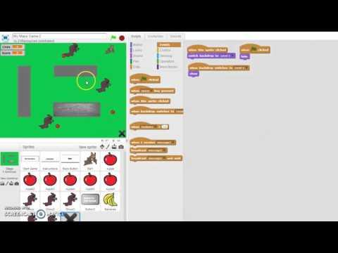 Scratch Maze Game 18 Restart Level Feature