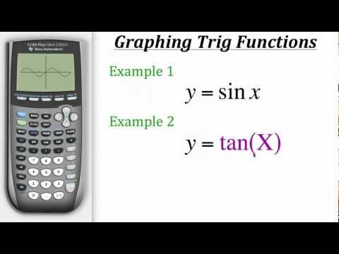 TI Calculator Tutorial: Graphing Trig Functions