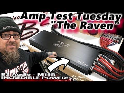 Amp Test Tuesday -  B2 Audio M15R