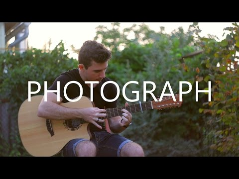 Photograph - Ed Sheeran (12-string fingerstyle guitar cover by Peter Gergely)