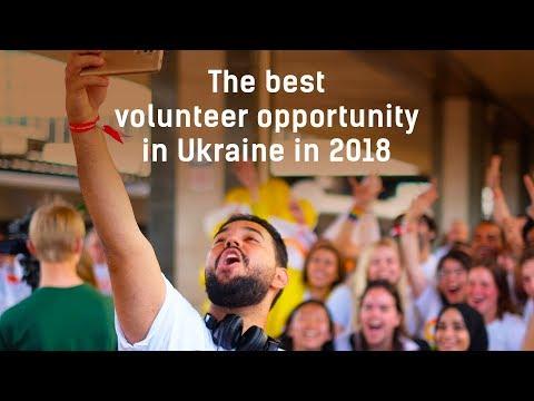 The best volunteer opportunity in Ukraine in 2018!