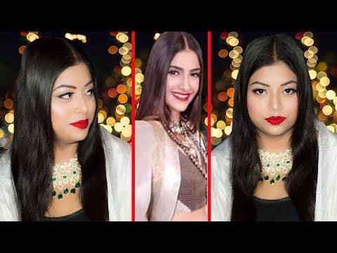 Sonam Kapoor's Reception Inspired Makeup Look | Sonam Kapoor's Wedding | Indian Makeup