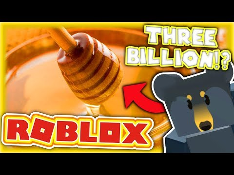 HELPED BY A PLAYER WITH...3,000,000,000 HONEY!? - Roblox Bee Swarm Simulator
