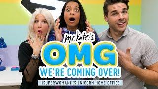Modern Unicorn Home Office Makeover for Lilly Singh (AKA IISuperwomanII)