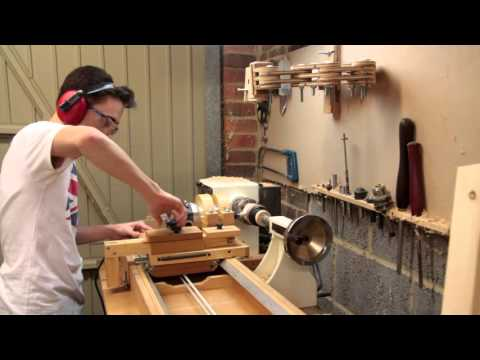 Making a Wooden Bangle | Router Lathe Carving