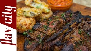 Cook the Perfect Porterhouse Steak - Best Steak Recipe - FlavCity with Bobby