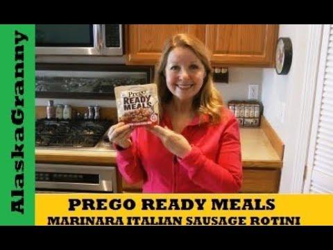 Ready Meals Prego Marinara Italian Sausage Rotini
