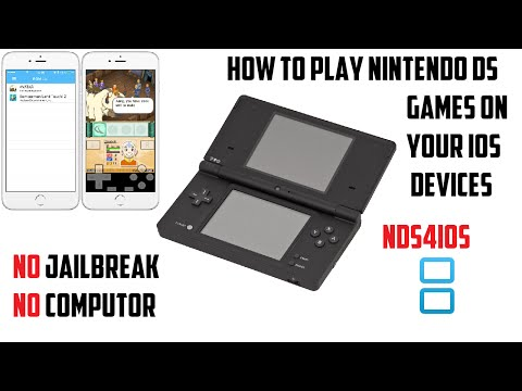 Nds4ios: HOW TO PLAY DS GAMES ON YOUR IOS 9.3.4 DEVICES(NO JAILBREAK)